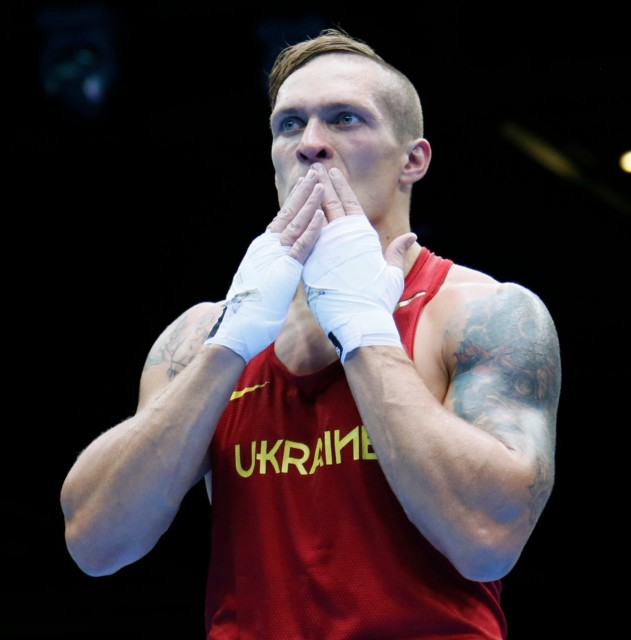As an amateur boxer Usyk fought 350 times, winning 335 bouts