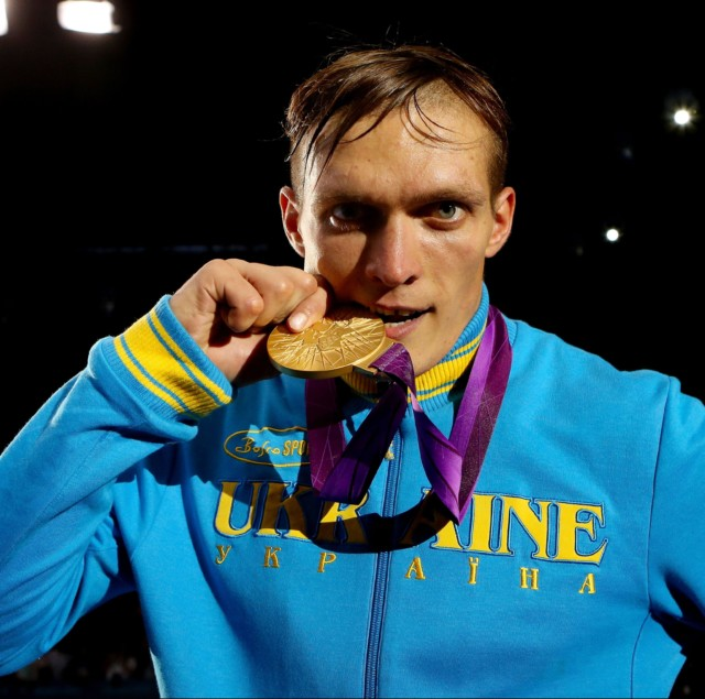 In 2012 Usyk won gold at the London Olympics