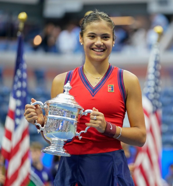 Emma Raducanu became the first British woman to win a major singles title since 1977
