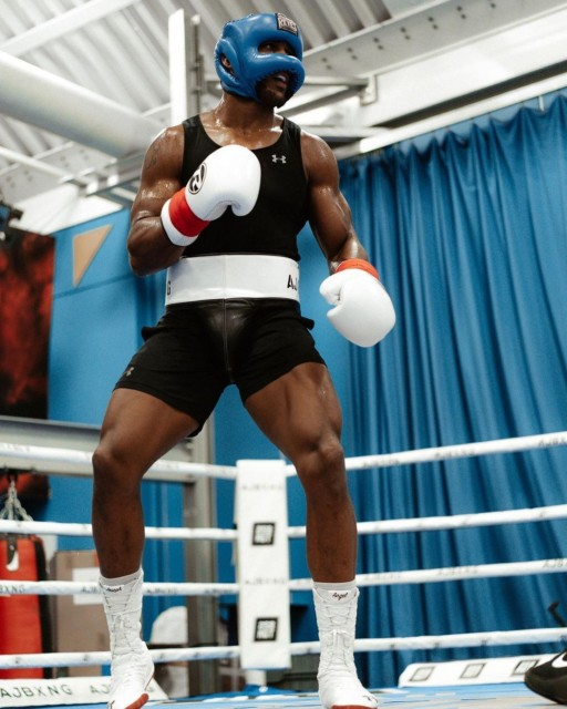 Anthony Joshua will face fellow Olympic champion Oleksandr Usyk on September 25